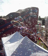 Saturday, May 1, 2004 at Boulder City Nevada. Beta Test of Bubble